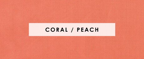 coral peach decorative fabric by the yard