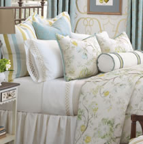 calico bedding - Magnolia