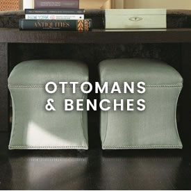 ottomans benches