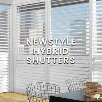 calico Hunter Douglas - Newstyle Hybrid Shutters
