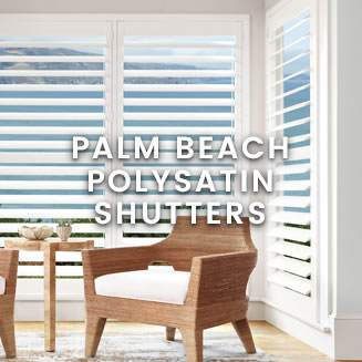 calico Hunter Douglas - Palm Beach Polysatin Shutters