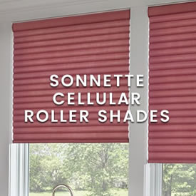calico Hunter Douglas - Sonnette Cellular Roller Shades