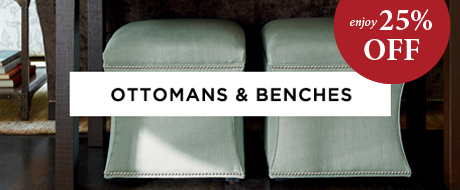 Ottoman and Benches