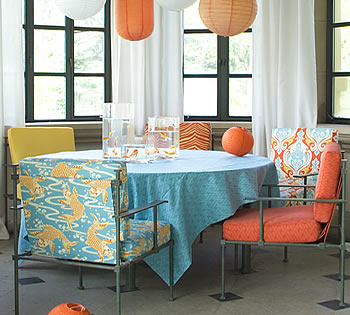 Calico Outdoor Fabric Collection