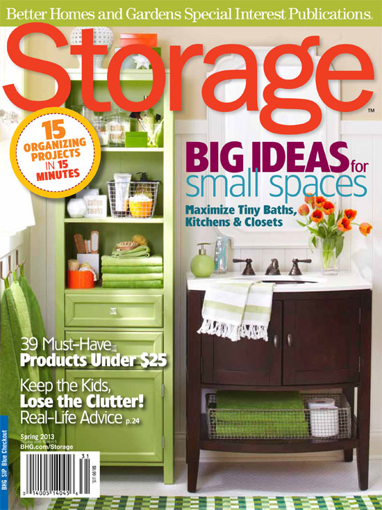 Calico - Press Better Homes and Gardens Storage