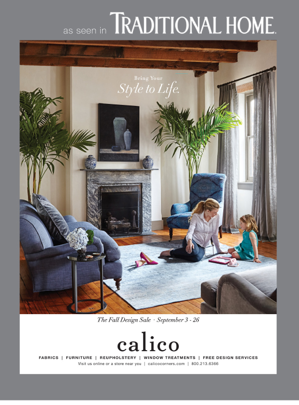 Calico - As seen in Traditional Home Magazine September 2015