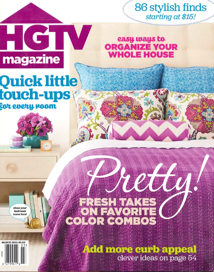 Calico - HGTV Magazine March Press