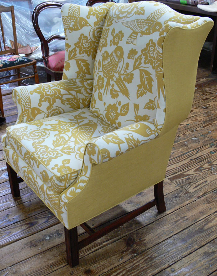 Reupholstery-Why Calico