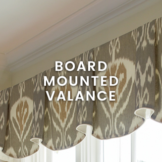 Calico Custom Valances