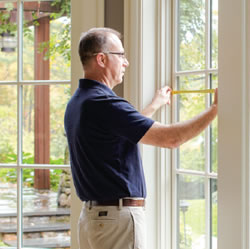 How to measure for window treatments