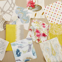 Free interior design fabric swatches