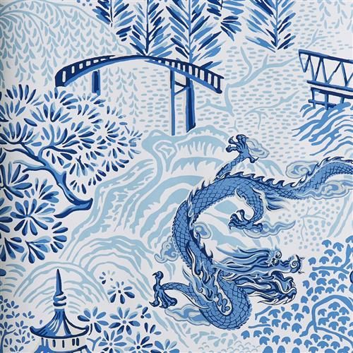 30007w Vern Yip Wallpaper Blue 01