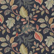 Autumn Leaves Navy