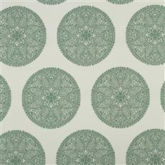 Paisley Way - Robert Allen Fabrics Billiard Green