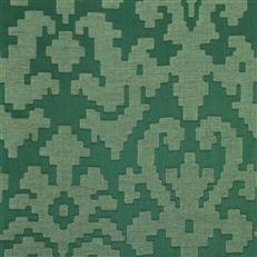 Puzzle Play - Robert Allen Fabrics Billiard Green