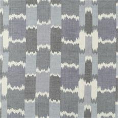 Acoustic Wave Robert Allen Fabrics Batik Blue