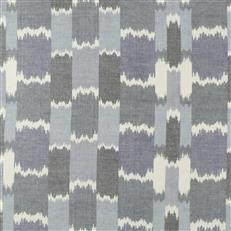 Acoustic Wave - Robert Allen Fabrics Batik Blue