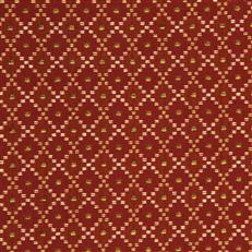 Dotted Boxes - Robert Allen Fabrics Red Hot