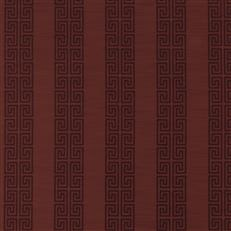 Greek Stripe - Robert Allen Fabrics Cassis