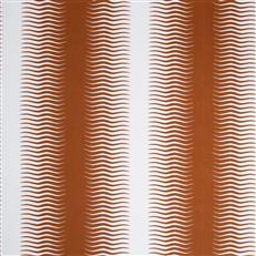 Gita Stripe - Dwellstudio Persimmon