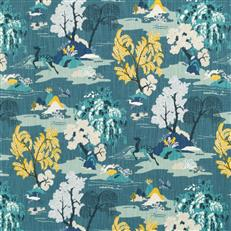 Modern Toile - Dwellstudio Peacock