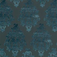 Royal Beauty - Robert Allen Fabrics Blue Pine