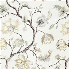 Bloom City - Robert Allen Fabrics Gold Leaf