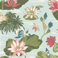 MC0406 - Madcap Cottage Wallpaper - Lake Agawam