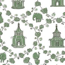 MC0426 - Madcap Cottage Wallpaper - Into The Garden