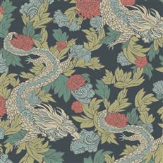 DR6300 - Dwellstudio Wallpaper - Ming Dragon