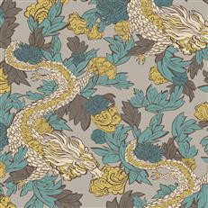 DR6302 - Dwellstudio Wallpaper - Ming Dragon