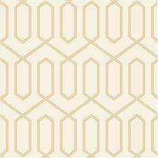 DR6326 - Dwellstudio Wallpaper - Dotted Trellis