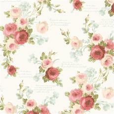 MH1525 - Magnolia Home Wallpaper - Heirloom Rose