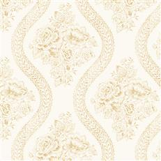 MH1602 - Magnolia Home Wallpaper - Coverlet Floral