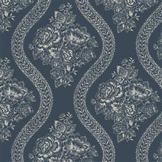 MH1603 - Magnolia Home Wallpaper - Coverlet Floral