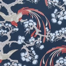 BONSALLO - Fabricut Wallpaper - Indigo