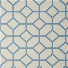 HOLT - Fabricut Wallpaper - Harbor Blue