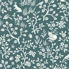 ME1574 - Magnolia Home - Wallpaper Fox & Hare