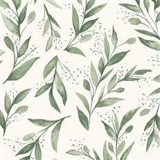ME1535 - Magnolia Home - Wallpaper Olive Branch