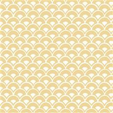 MK1152 - Magnolia Home Wallpaper - Stacked Scallops