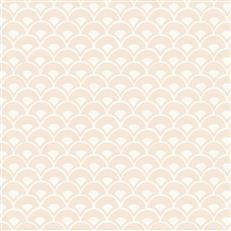 MK1153 - Magnolia Home Wallpaper - Stacked Scallops