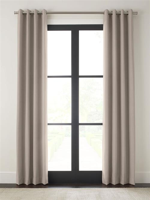 "Drapery 120""-Matte Grommet-Emporio - Quarry - Single Panel"
