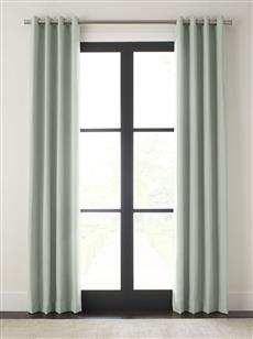 "Drapery 96""L X 48""W-Matte Grommet-Wexford-Bermuda - Single Panel"