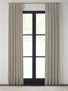 "Drapery 96""-Pinch Pleat-Wexford - Cement - Single Panel"