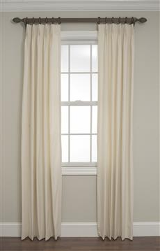 Fan Pleated Drapes