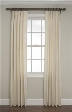 Pinch Pleated Drapes