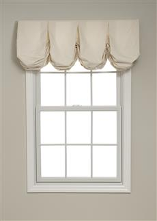 Pleated Balloon Valance