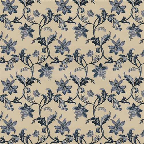 Charlotte Moss Fabrics Violet Indigo Fabric