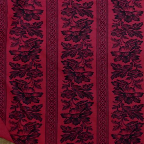 Ralph Lauren Gwinnet Toile Antique Red Fabric