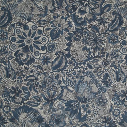Robert Allen Fabrics-Leonini Batik Blue Fabric